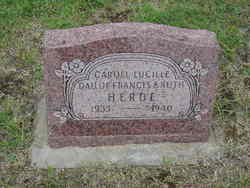 Caroll Lucille Herde