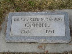 Laura Josephine <i>Sanders</i> Campbell