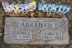 Bertha L <i>Friedel</i> Abraham
