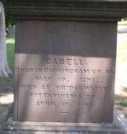 Gen Benjamin William Sheridan Cabell