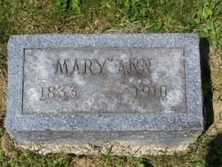 Mary Ann <i>Bayne</i> Bevans
