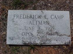 Frederick E. <i>Camp</i> Altman