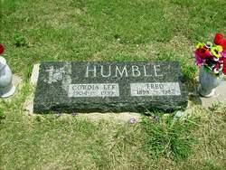 Cordia Lee <i>Parsons</i> Humble