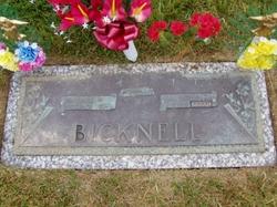 Nona <i>Richardson</i> Bicknell