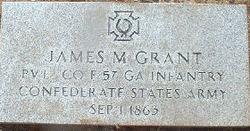 Pvt James M. Grant