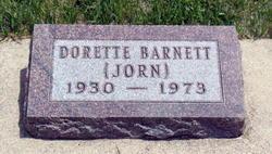 Doretta Ruth <i>Jorn</i> Barnett