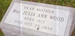 Julia Ann <i>Blanchford sp?</i> Wood