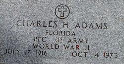 PFC Charles H. Adams