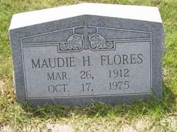 Maudie Irene <i>Hitchcock</i> Flores