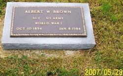 Albert W Brown