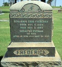 Wealthy <i>Putnam</i> Frederick