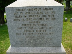 Ellen M <i>Warner</i> Adams