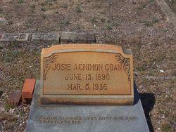 Josephine Josie <i>Achimon</i> Coan
