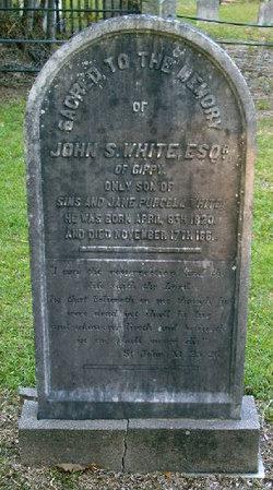 John S White