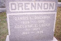 Adelade E <i>Loder</i> Drennon