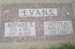 Nettie <i>Atkinson</i> Evans