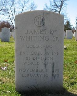 James David Whiting, Sr