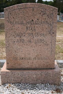 Nevada <i>McClelland</i> Bell