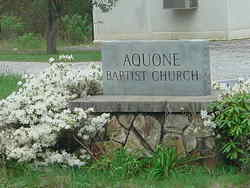 Aquone Baptist Church Cemetery