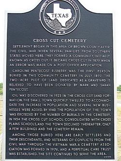 Cross Cut Cemetery