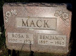 Rosa Belle <i>Murdock</i> Mack