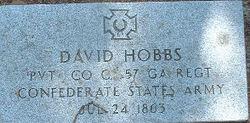 Pvt David Hobbs
