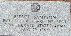 Pvt Pierce C. Sampson