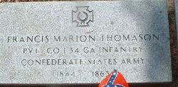 Pvt Francis Marion Thomason