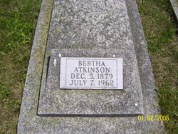Bertha <i>Oren</i> Atkinson