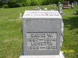 Luretta R <i>Hayes</i> Atkinson
