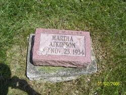 Martha Atkinson