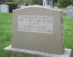 Marion A <i>Davis</i> Augur