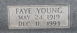 Faye <i>Young</i> Satterwhite