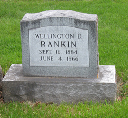 Wellington D Rankin
