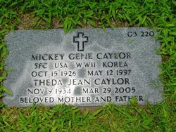 Mickey Gene Caylor