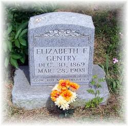 Elizabeth F Gentry