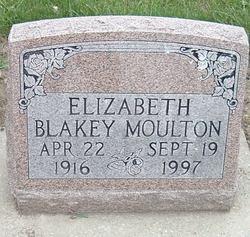Elizabeth A <i>Blakey Williams</i> Moulton