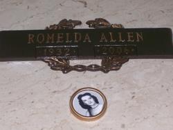 Ethel Romelda <i>Reece</i> Allen