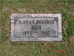 Clara S. <i>Beckner</i> Bair