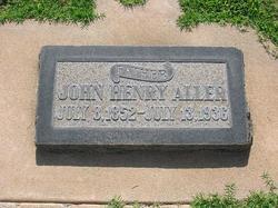 John Henry Aller