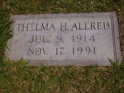 Thelma M. <i>Hill</i> Allred