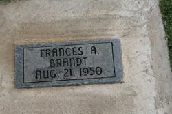 Frances A Brandt
