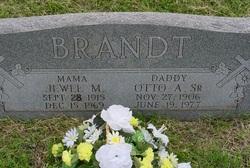 Otto A Brandt, Sr