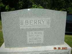 Alfaretta <i>Clark</i> Berry