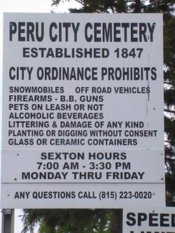 Peru City Cemetery