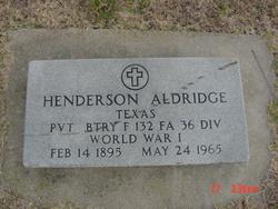 Henderson Aldridge