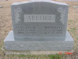 Elsie <i>Payne</i> Archer