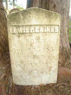Lewis P Gaines