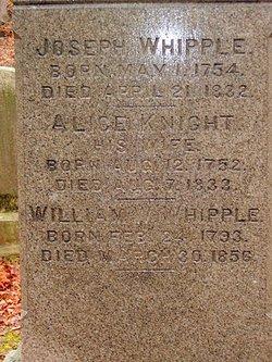 Alice B. <i>Knight</i> Whipple