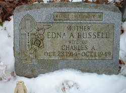 Edna Angie <i>LaForce</i> Russell